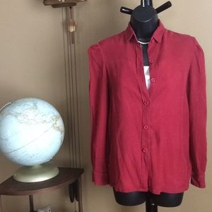 Christian Dior Vintage Silk Shirt